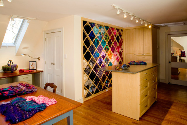 Knitting Studio eclectic-home-office