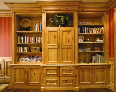 knotty pine home office traditional home office atherton library traditional home office