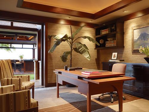 Contemporary Home Office Design By Las Vegas Interior Designer Knudson  Interiors