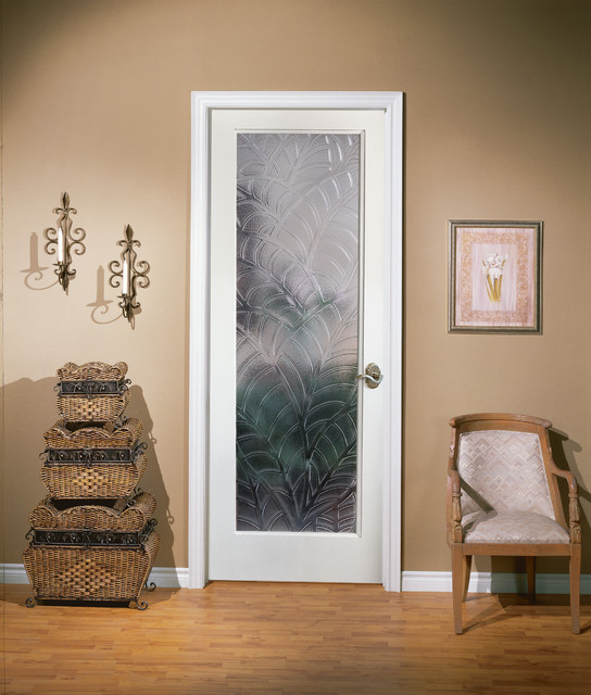 Kona Decorative Glass Interior Door - Home Office - sacramento - by HomeStory Easy Door Installation