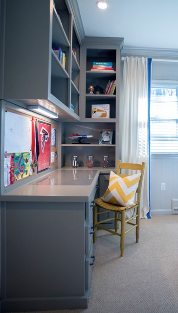 Kris Wayne Design Projects transitional-home-office