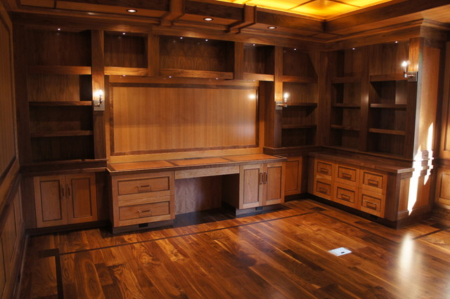 KZ Smith & Co. craftsman-home-office