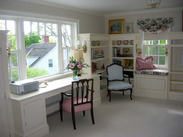 Ladies Sitting Room traditional-home-office