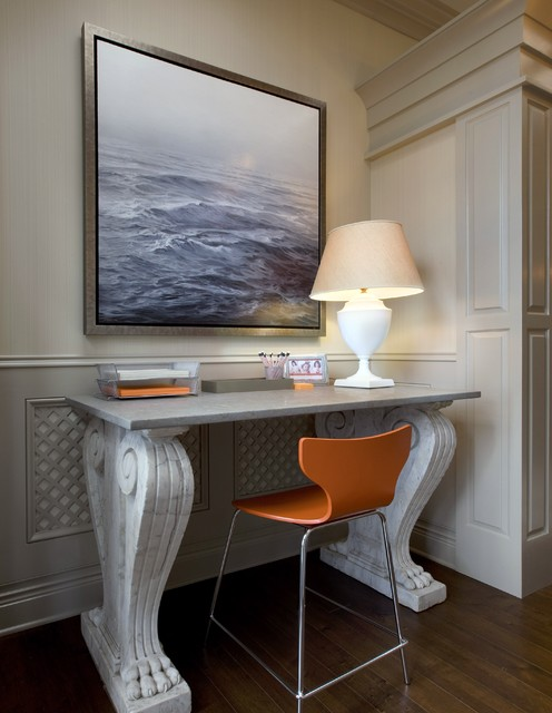 Lake Forest Showhouse I eclectic-home-office