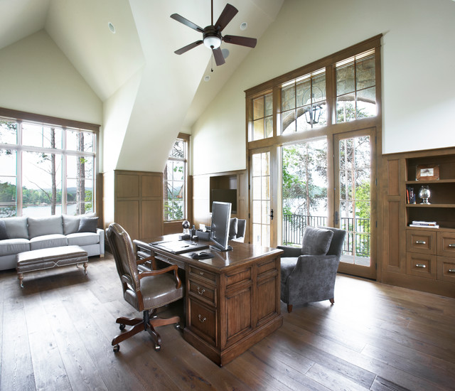 Custom Home Office Designs Classy Design Willams Std: Lake Front Country Estate