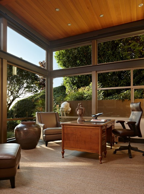 Lake House Two - Office contemporary-home-office