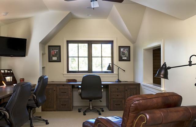 Lake Keowee, SC rustic-home-office