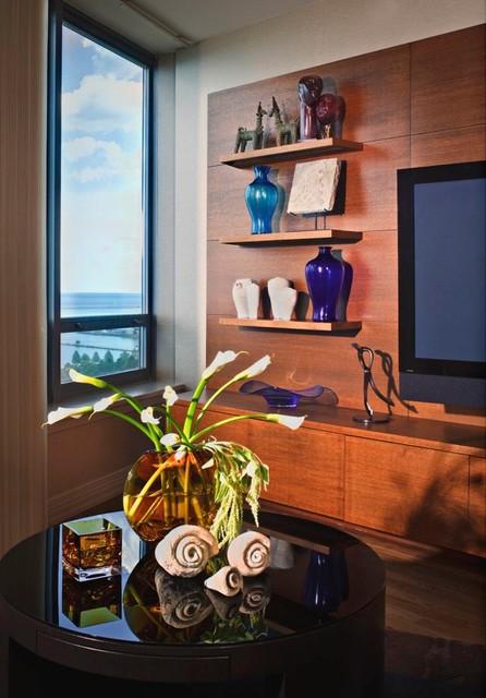 Lake Shore Drive Condo - Chicago contemporary-home-office