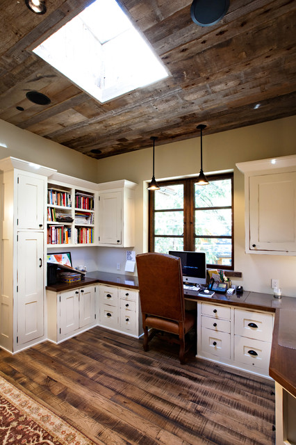 Lake Tahoe Dream Home - Rustic - Home Office - San Francisco - by Greenwood Homes