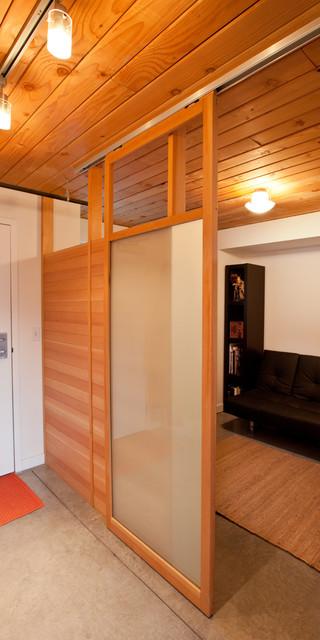 Lake Union Loft modern-home-office