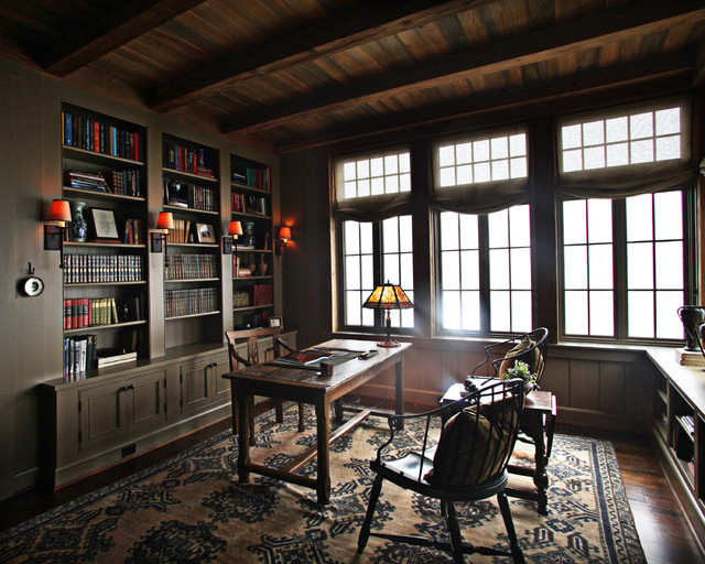 Landrum SC residence traditional home office