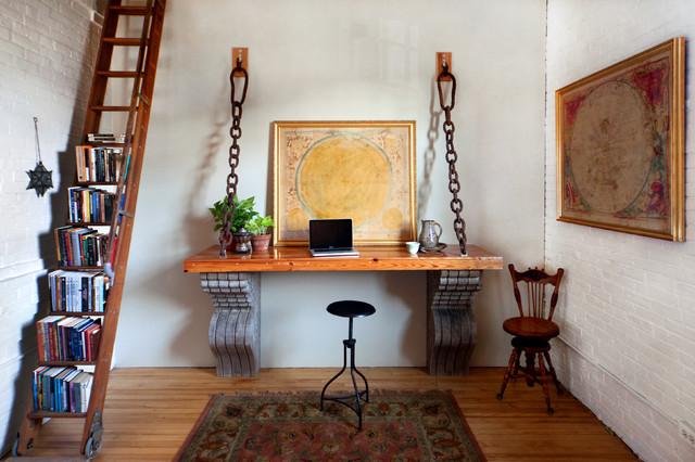 Landscape Loft Photos industrial-home-office