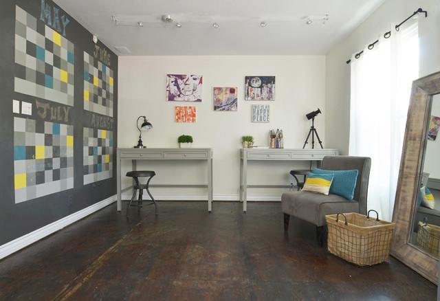 Las Vegas, NV: Selah eclectic-home-office