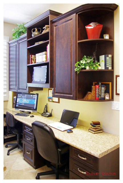 Laundry room to home office conversion home office for Laundry room office