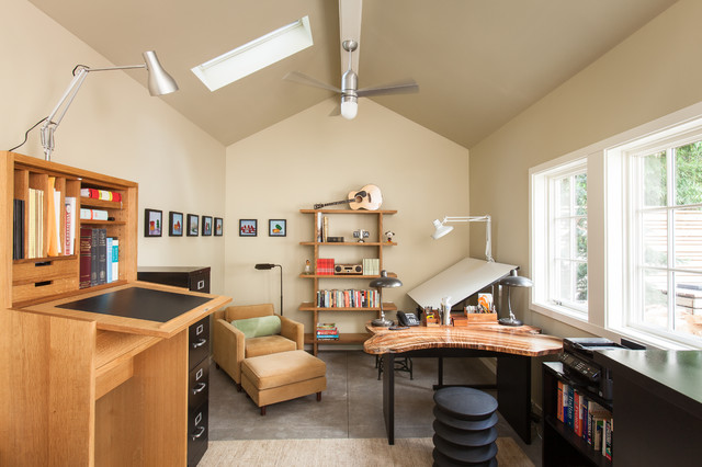 Home Office Design Tips To Stay Healthy: Healthy Home: 8 Ways To Add A Standing Desk