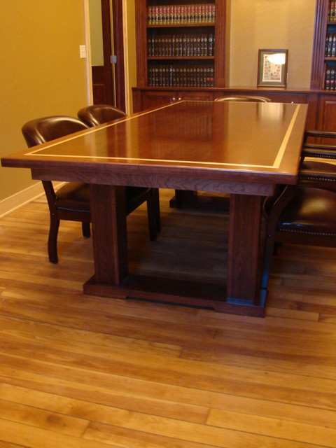 Law Office Conference Room Traditional Home Office