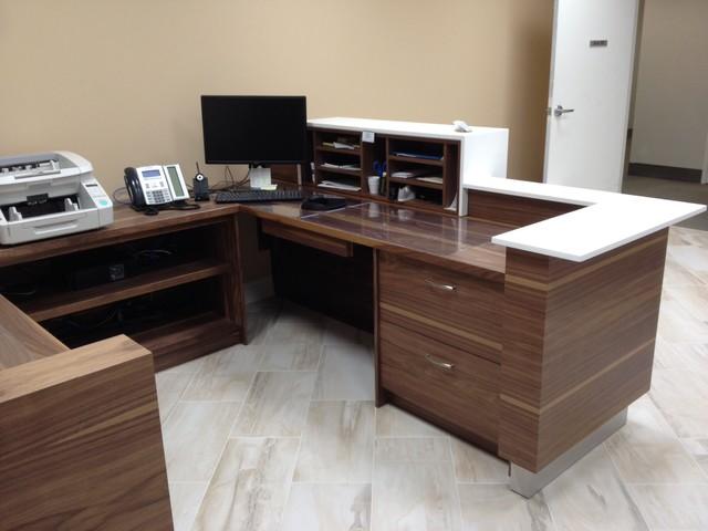 Lawyers Office Reception Desk Modern