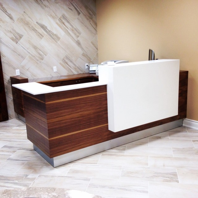 Lawyers Office Reception Desk
