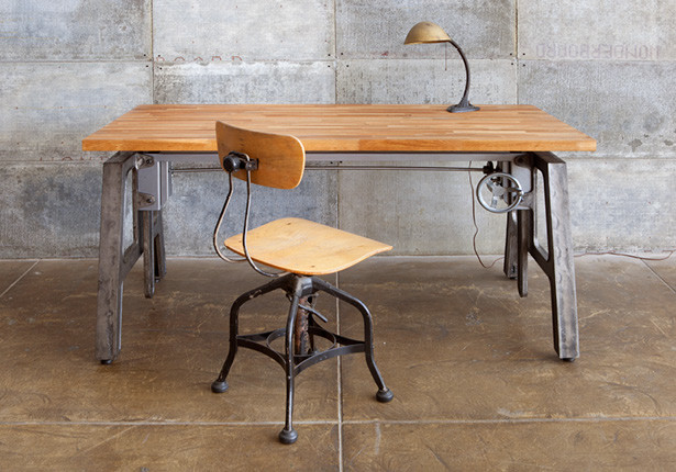 LAXseries Height Adjustable Desk Industrial Home Office