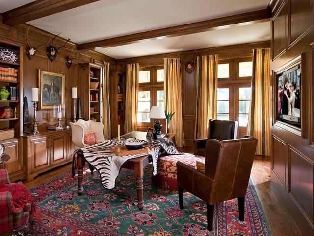 Lexington {Highland Park} traditional-home-office