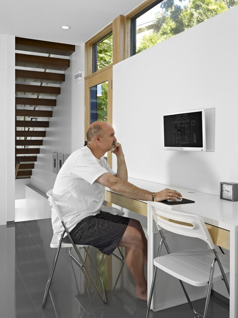 Modern Home Office by thirdstone inc. [^]