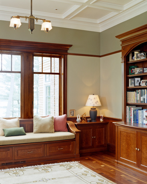 Libraries traditional-home-office