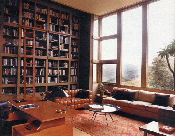 Libraries   Studies transitional-home-office