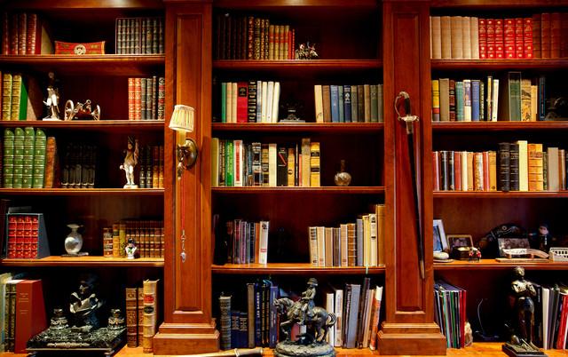 office book shelf. Library Bookshelf Mediterranean-home-office-and-library Office Book Shelf D