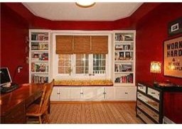 Library/Den eclectic-home-office