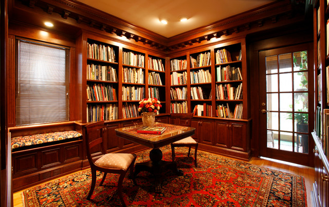 Library - Traditional - Home Office - other metro - by Essential Home ...