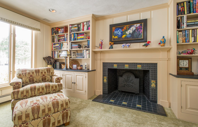 library home office in arts and crafts style craftsman home office arts crafts home office