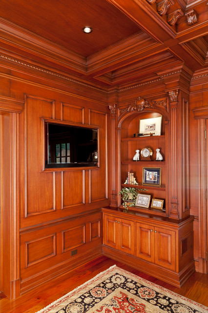 Residence NJ (Bar Room, Office) traditional-home-office