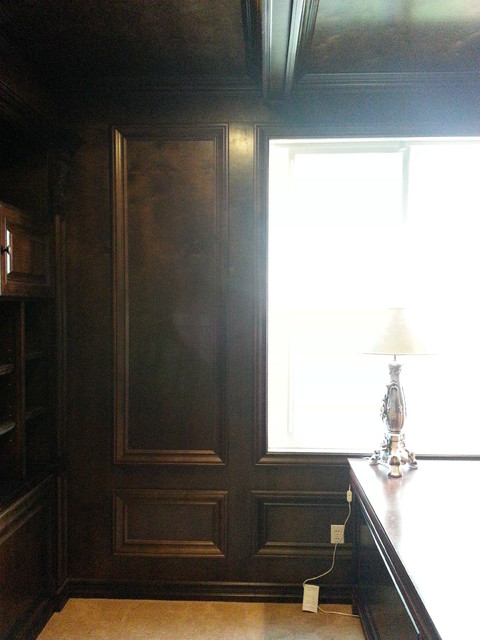 Library Reading Room traditional-home-office