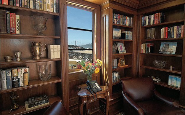 Library traditional-home-office