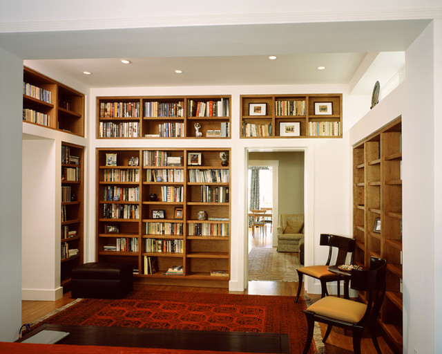 Library contemporary-home-office