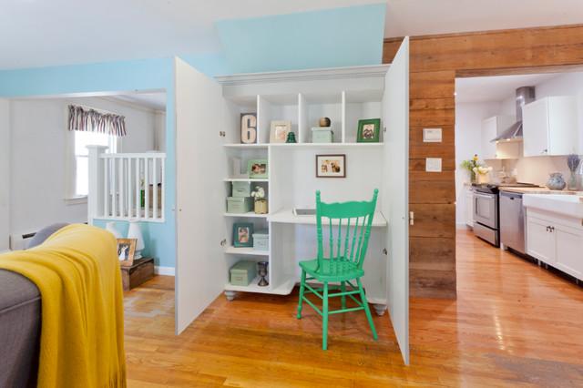 书房门厅混搭风格装饰效果图