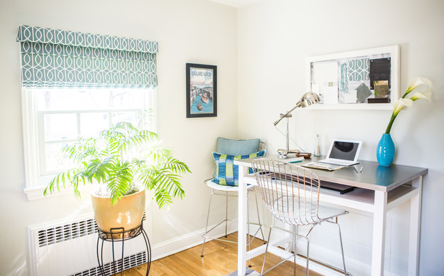 Light And Airy Home Office Contemporary