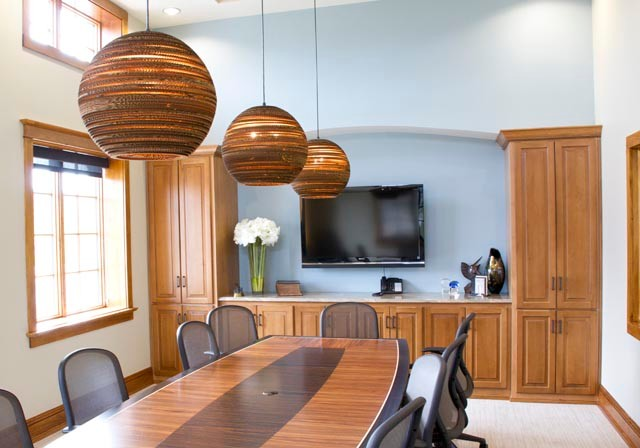 Lighten-up and Design contemporary-home-office