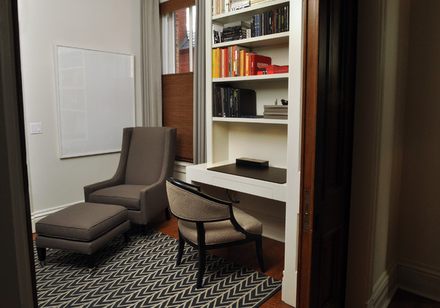Lincoln Park Master Suite contemporary-home-office