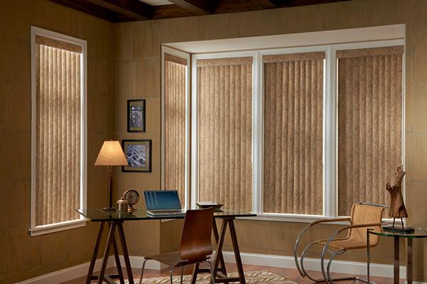 Living Room Window Treatments Modern Home Office