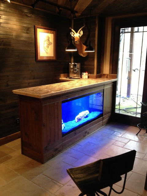 Living Water aquarium stands  Rustic  Home Office  atlanta  by