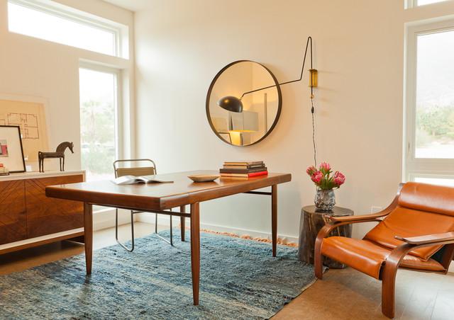 LivingHomes C6 designed by Jamie Bush in Palm Springs Modernism Week modern-home-office