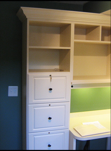 Locking File Cabinets traditional-home-office