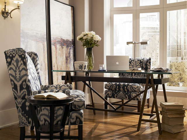 loft contemporary-home-office