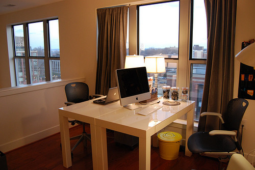 loft office modern-home-office