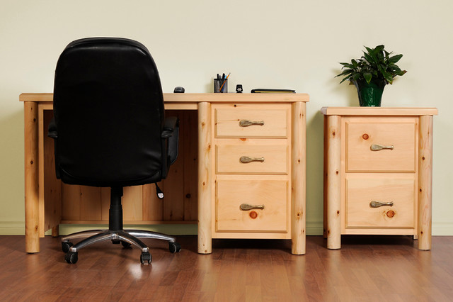 log furniture traditional home office toronto by log furniture