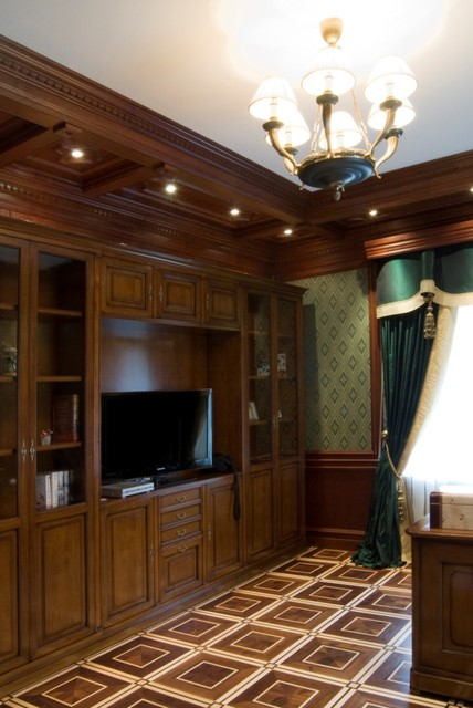 Lompier Interior Group traditional-home-office