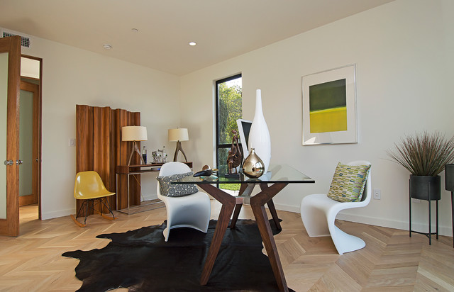 Los Angeles Home Staging | Wade St., Mar Vista contemporary-home-office