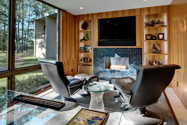 Interior Designers Decorators Louisiana Estate Contemporary Home Office