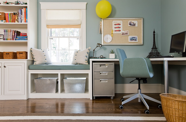Lovejoy Designs Interiors eclectic-home-office